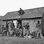 Soldiers on Pine Cottage