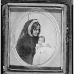 Gertrude M. Hubbard with baby