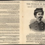 Woman in Battle Broadside 1 of 2