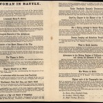 Woman in Battle Broadside 2 of 2